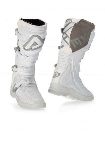 Мотоботы кроссовые Acerbis X-TEAM White