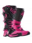 Кроссовые мотоботы женские Fox Comp 5 Womens Boot Black/Pink