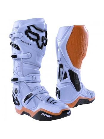 Кроссовые мотоботы Fox Instinct Boot Light Grey