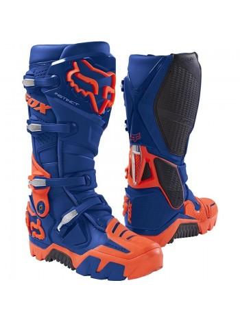 Кроссовые мотоботы Fox Instinct Off Road Boot Blue