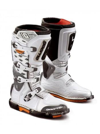 Кроссовые мотоботы Gaerne Supermotard White