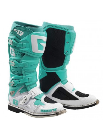 Кроссовые мотоботы Gaerne SG-12 Special Edition Aqua