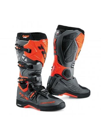 Кроссовые мотоботы TCX COMP EVO 2 MICHELIN Серый/Оранжевый