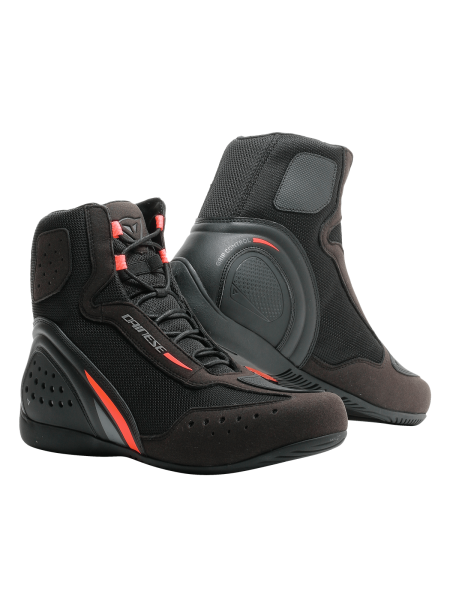 Мотоботы мужские DAINESE MOTORSHOE D1 AIR BLACK/FLUO-RED
