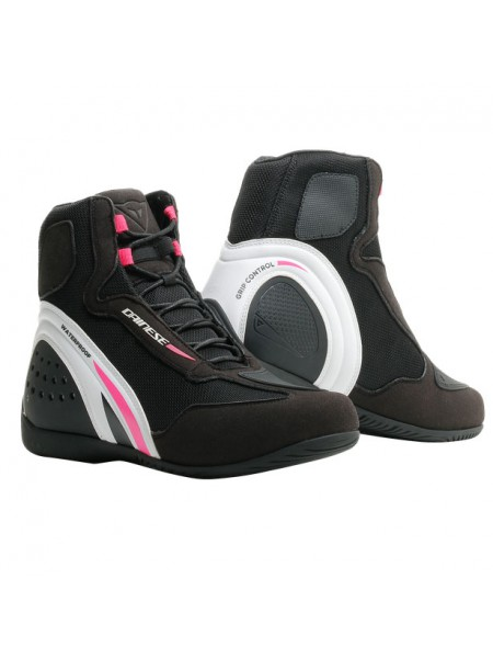 Мотоботы женские DAINESE MOTORSHOE D1 AIR LADY BLACK/WHITE/FUCHSIA