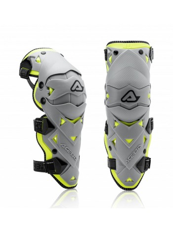 Наколенники Acerbis IMPACT EVO 3.0 KNEE Grey/Yellow