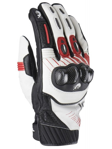 Мотоперчатки Furygan RG-19 Черно-красные