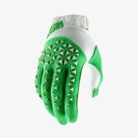 Перчатки для мотокросса 100% Airmatic Silver Fluo Lime