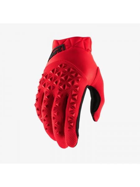 Перчатки для мотокросса 100% Airmatic Red Black