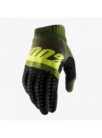 Мотоперчатки 100% Ridefit Army Green