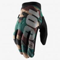 Перчатки для мотокросса 100% Brisker Camo Black