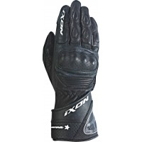 Длинные женские перчатки Ixon curve leather racing black