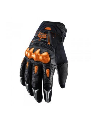 Мотоперчатки Fox Bomber Black Orange