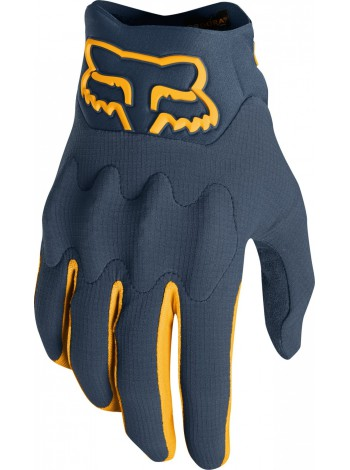 Мотоперчатки Fox Bomber LT Navy Yellow