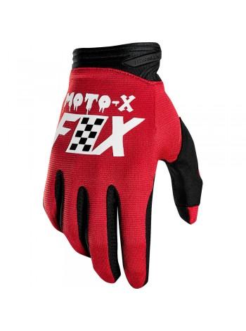 Мотоперчатки Fox Dirtpaw Czar Cardinal