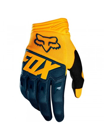 Мотоперчатки Fox Dirtpaw Navy Yellow