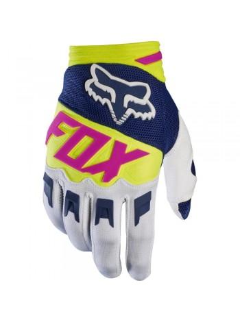 Мотоперчатки Fox Dirtpaw Race Navy White