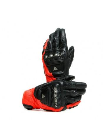 Мотоперчатки Dainese 4-STROKE 2 Black/Fluo-Red