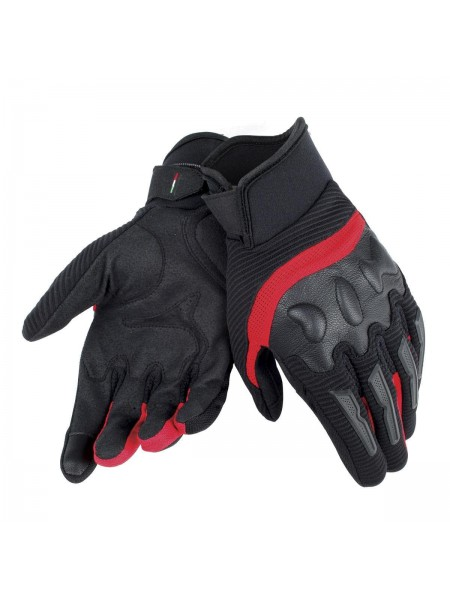 Мотоперчатки Dainese AIR FRAME UNISEX Black-red
