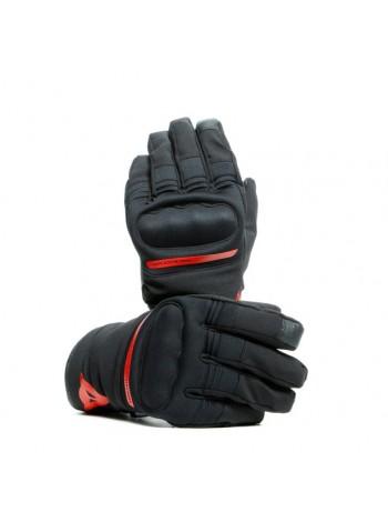 Мотоперчатки Dainese AVILA UNISEX D-DRY Black/Red