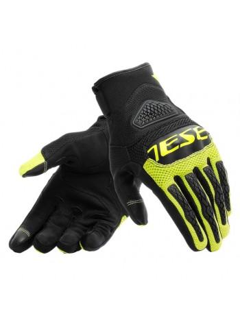 Мотоперчатки Dainese BORA Black/Fluo-Yellow