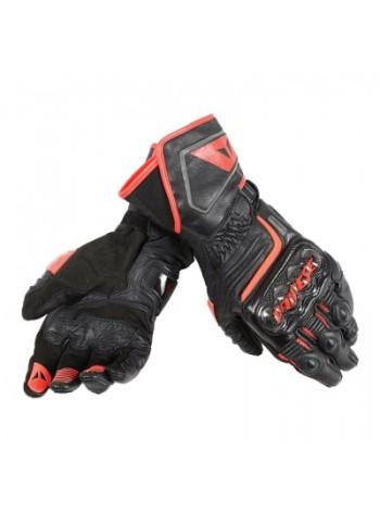 Мотоперчатки Dainese CARBON D1 LONG Черно-красные