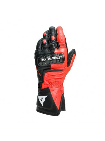 Мотоперчатки Dainese CARBON 3 LONG Black/Red