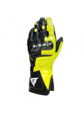 Мотоперчатки Dainese CARBON 3 LONG Black/Yellow