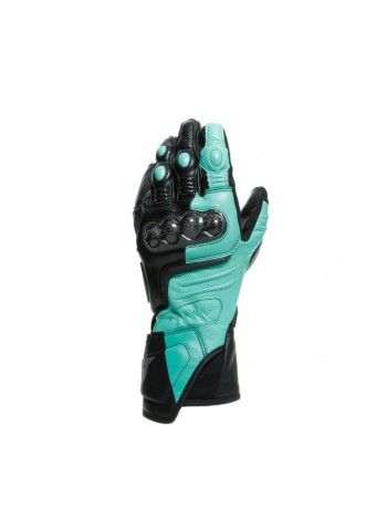 Мотоперчатки женские Dainese CARBON 3 LADY Black/Aqua-Green/Anthracite
