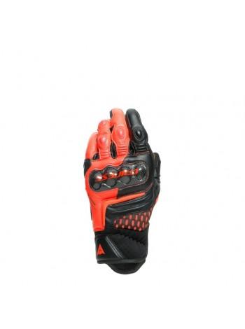 Мотоперчатки Dainese CARBON 3 SHORT Black/Fluo-Red
