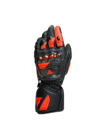 Мотоперчатки Dainese Druid 3 Black/Fluo-Red