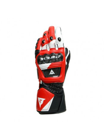 Мотоперчатки Dainese Druid 3 Black/White/Lava-Red