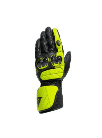 Мотоперчатки Dainese IMPETO Black/Fluo-Yellow
