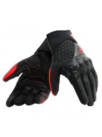 Мотоперчатки Dainese X-MOTO Черно-красные