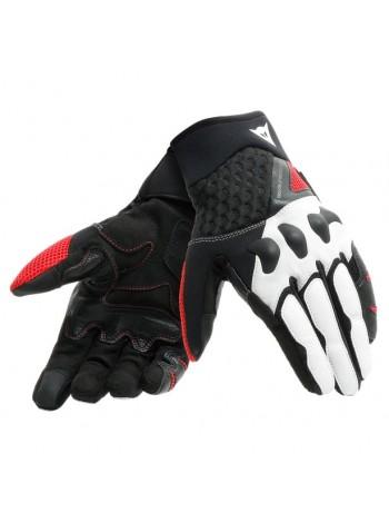 Мотоперчатки Dainese X-MOTO Черно-белые