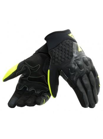 Мотоперчатки Dainese X-MOTO Черно-желтые