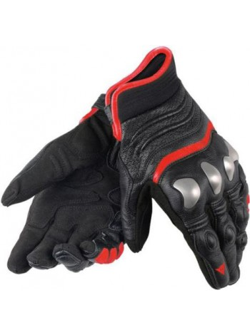 Мотоперчатки Dainese X-STRIKE BLACK/RED-FLUO