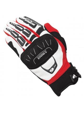 Мотоперчатки HELD Backflip мужские Черно-красные