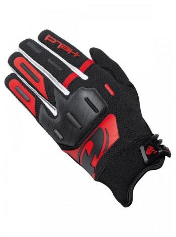Мотоперчатки кроссовые HELD HARDTACK черно-красные