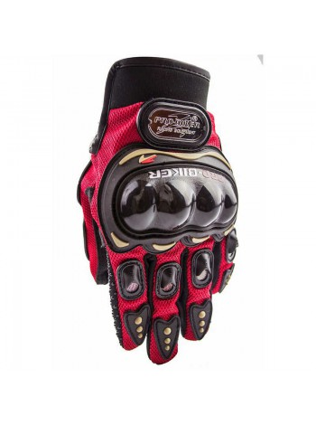 Мотоперчатки Pro-Biker MCS-01 Red