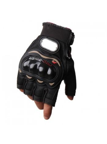 Перчатки Pro-Biker MCS-04 Black без пальцев