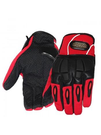 Pro-Biker красные перчатки MCS-22 Red