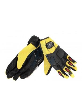 Pro-Biker желтые перчатки MCS-22 Yellow
