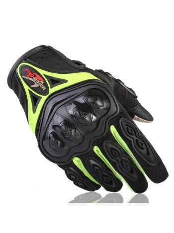 Pro-Biker зеленые перчатки MCS-42 Green