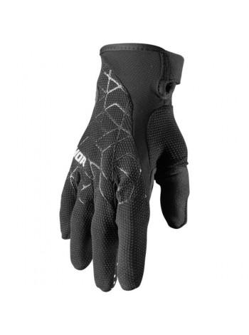 Перчатки для мотокросса Thor Draft Черные