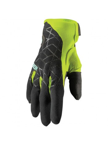 Перчатки для мотокросса Thor Draft Черно-желтые