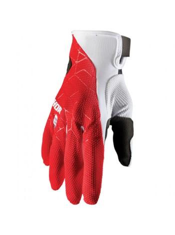 Перчатки для мотокросса Thor Draft Красно-белые