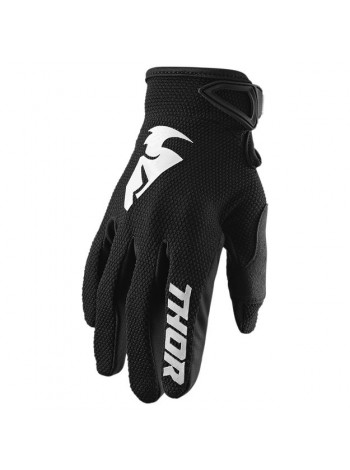 Перчатки для мотокросса Thor S20 Sector Черные