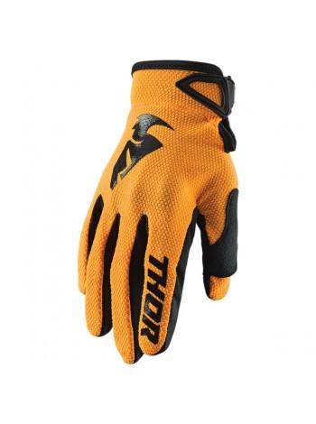 Перчатки для мотокросса Thor S20 Sector Оранжевые