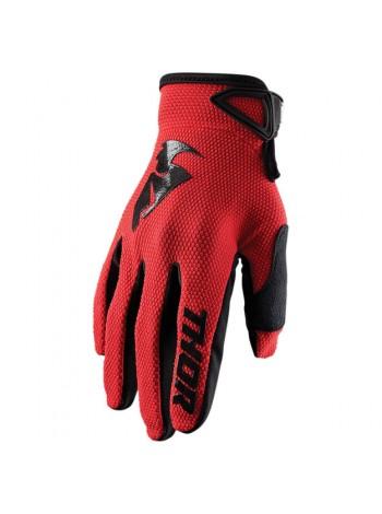 Перчатки для мотокросса Thor S20 Sector Красные